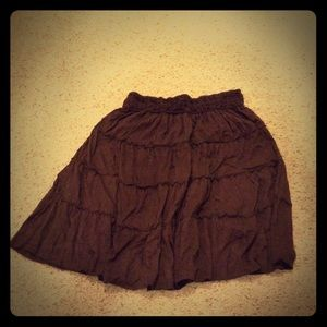 Maurice's Mid-length Ruffle Skirt